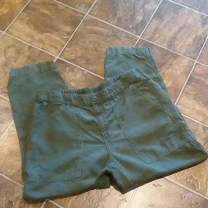 J.Crew linen Blend Capri pants (12)